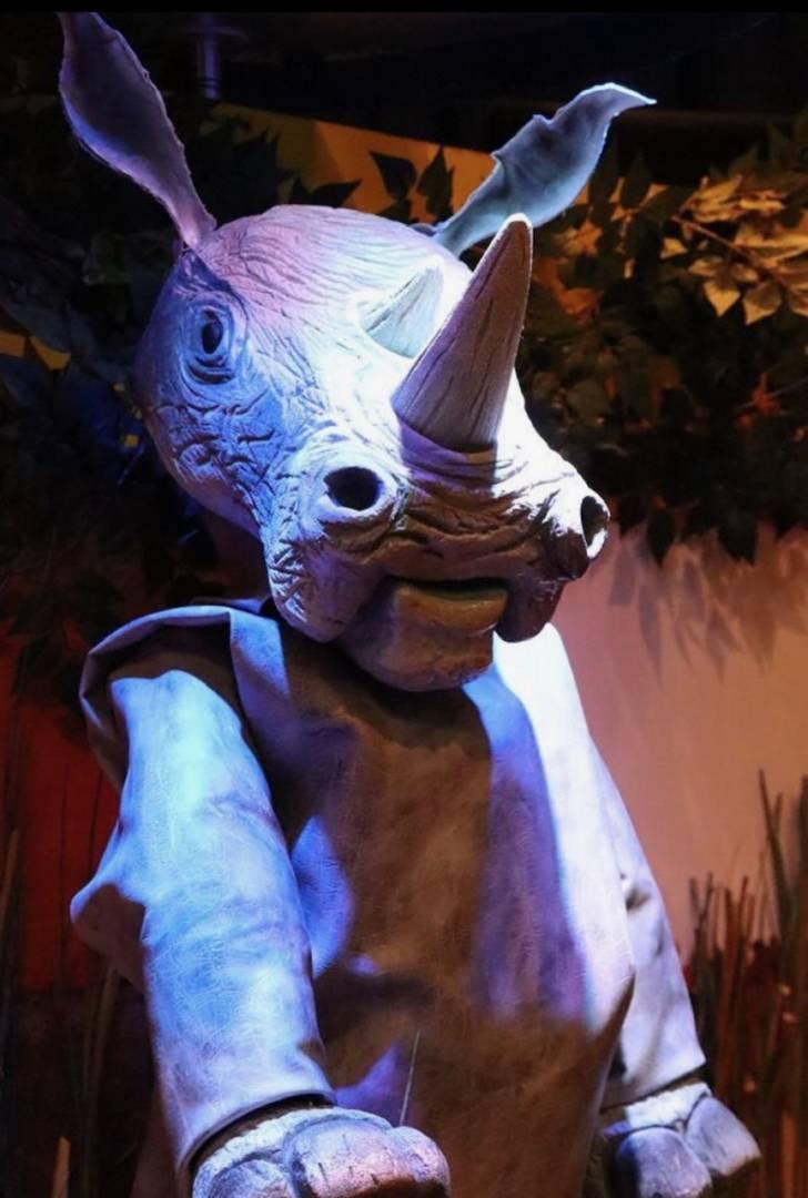 Garner Holt Animatronic Rhino