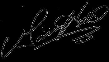 Garner Holt's Signature