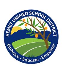 Hemet Unified School District Logo